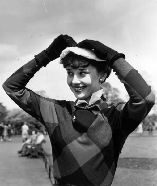 Revue Photograph - Audrey Hepburn by Bert Hardy