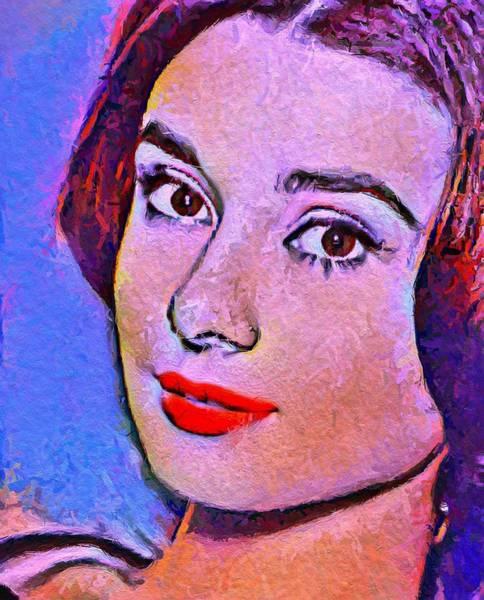 Wall Art - Painting - Audrey Hepburn by Steve K