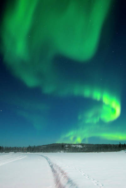 Yellowknife Wall Art - Photograph - Aurora Borealis, Yellowknife, Northwest by Michael Defreitas
