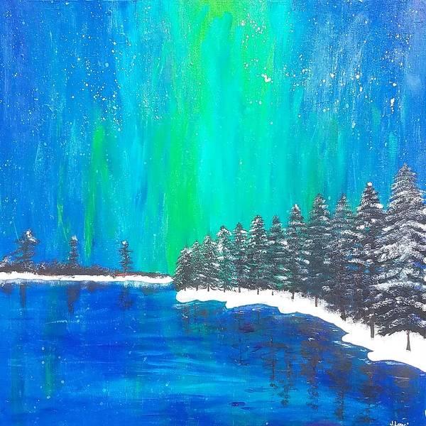 Painting - Aurora  by Jennah Lenae