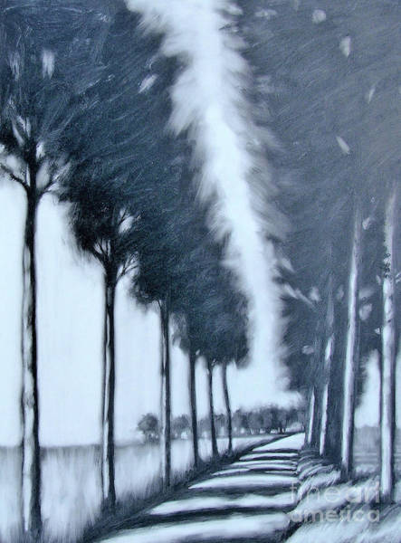 Wall Art - Painting - Avenue by Paul Powis