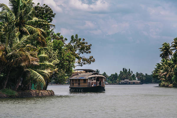 Photograph - Backwaters Of Kerala by Maria Heyens