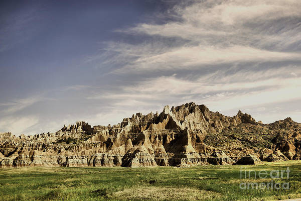 Wall Art - Photograph - South Dakota Badlands by Jeff Swan