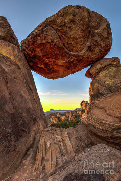 Wall Art - Photograph - Balanced Rock by Charles Dobbs