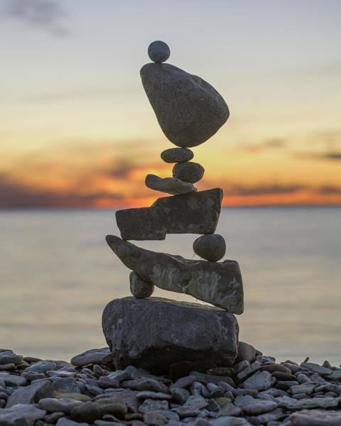 Balancing Art #34 Art Print