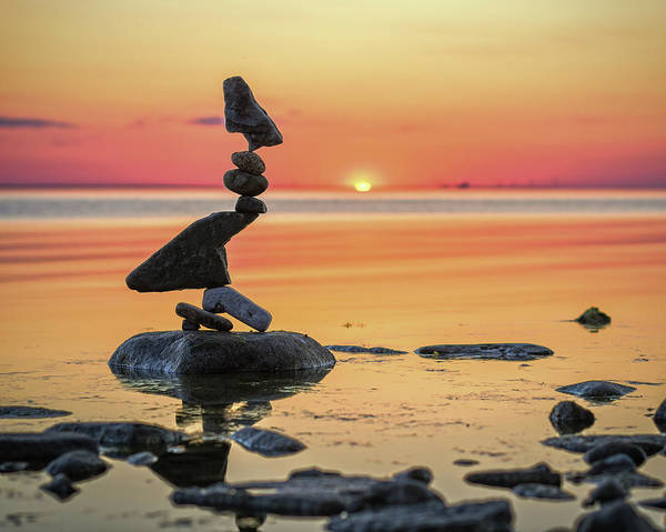 Balancing Art #6-2 Art Print