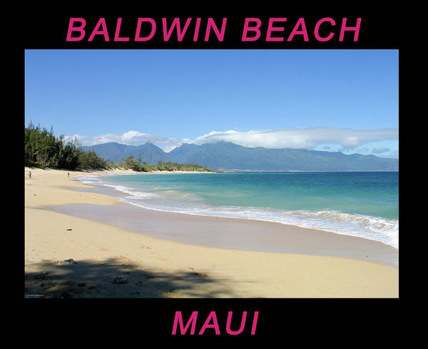 Photograph - Baldwin Beach Maui by Frank DiMarco