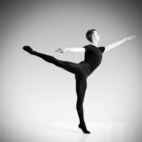 Adult Male Photograph - Ballet Dancer by Emirmemedovski
