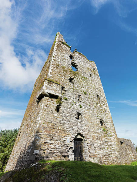 Wall Art - Photograph - Ballinacarriga Castle, County Cork by Ken Welsh