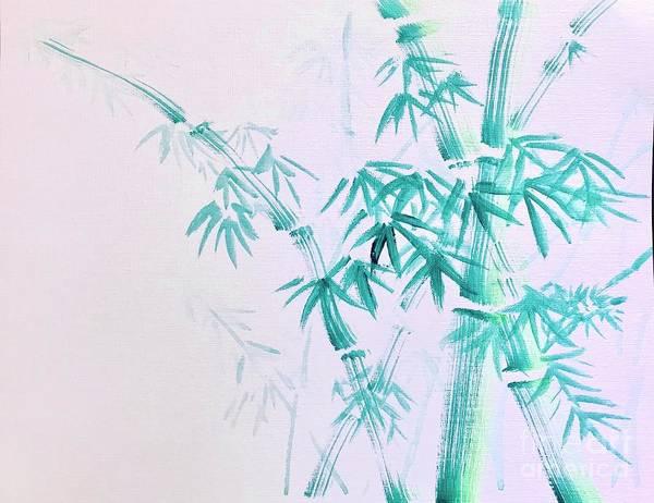Wall Art - Painting - Bamboos  by Lavender Liu