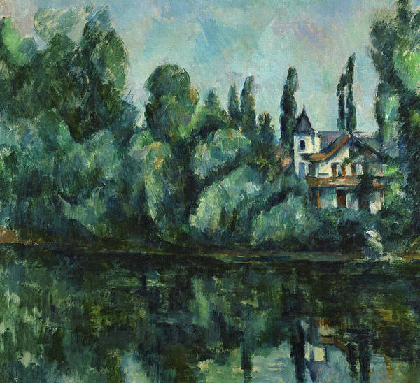 Cezanne Wall Art - Painting - Banks Of The Marne, 1888 by Paul Cezanne