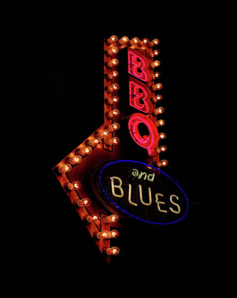 Wall Art - Digital Art - Bar B Que And Blues  by Susan Stone