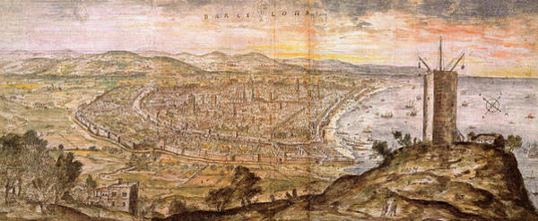 Photograph - Barcelona 1563 by Andrew Fare