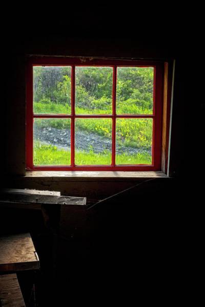 Photograph - Barn Window by Tom Singleton