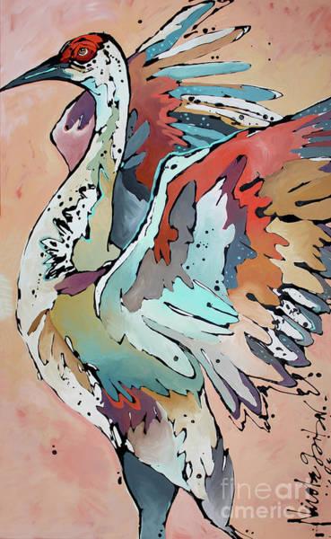 Painting - Basking In Glow by Nicole Gaitan