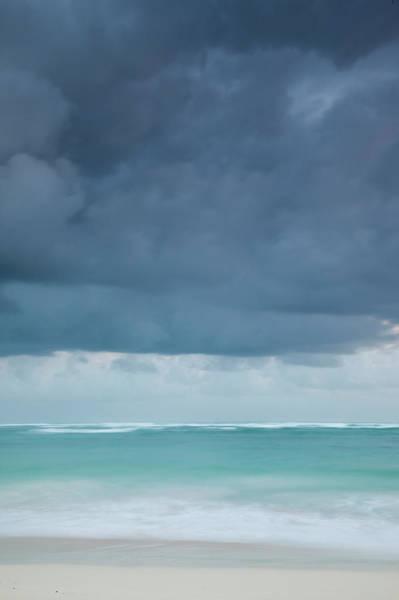 Bleached Photograph - Beach At Dawn, Bavaro, Punta Cana by Walter Bibikow