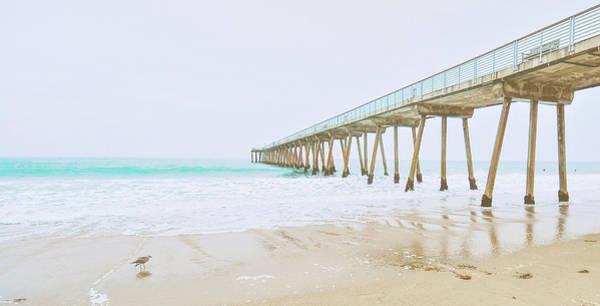 Wall Art - Photograph - Beach Pier View by Bill Carson Photography