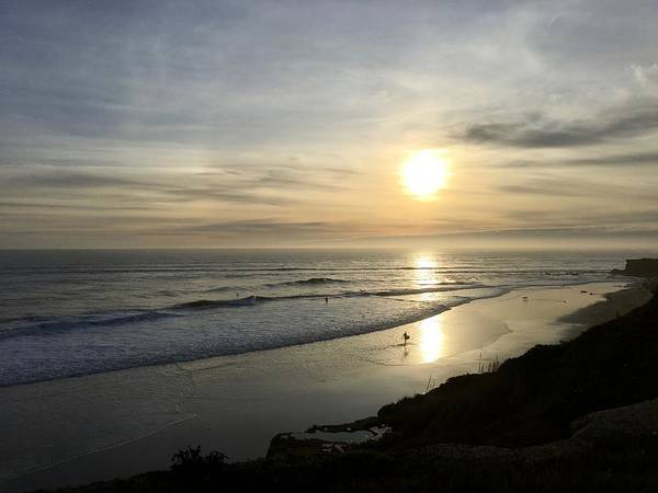 Wall Art - Photograph - Beach Reflections by Christina Ford
