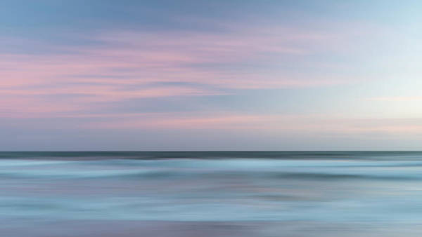 Wall Art - Photograph - Beautiful Artistic Colorful Landscape Image Of Blurred Waves At  by Matthew Gibson
