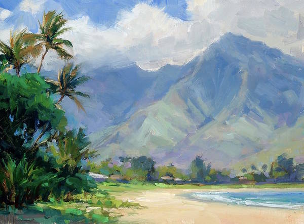 Wall Art - Painting - Beautiful Hanalei by Jenifer Prince