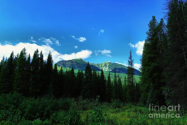 Wall Art - Photograph - Beautiful Mountains  by Jeff Swan