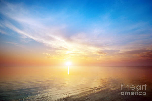 Wall Art - Photograph - Beautiful Seascape. Composition Of by Djgis