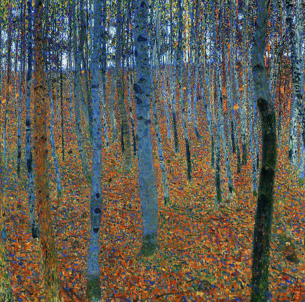 Wall Art - Painting - Beech Grove I, 1902 by Gustav Klimt