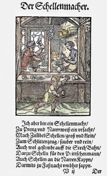 Painting - Bell Maker, 1568 by Granger