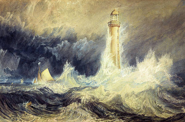 Painting - Bell Rock Lighthouse by Joseph Mallord William Turner