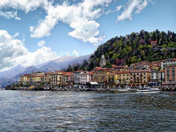 Photograph - Bellagio Coastal View by Anthony Dezenzio
