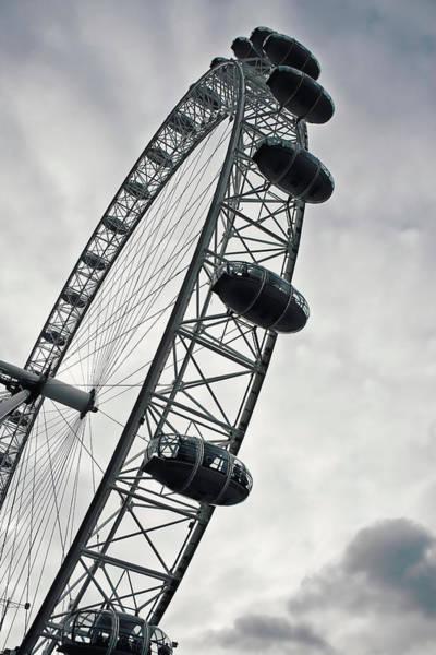 Wall Art - Photograph - Below London's Eye by Kamil Swiatek