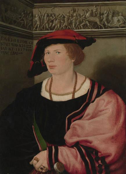Wall Art - Painting - Benedikt Von Hertenstein  by Hans Holbein the Younger