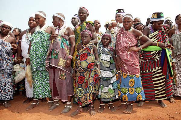 Benins Mysterious Voodoo Religion Is Art Print by Dan Kitwood