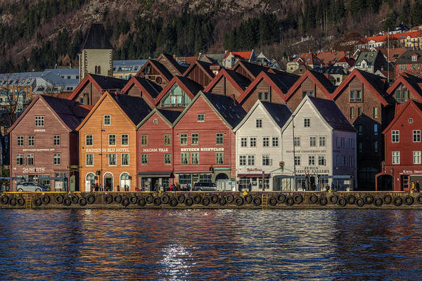 Wall Art - Photograph - Bergen - Norway by Joana Kruse