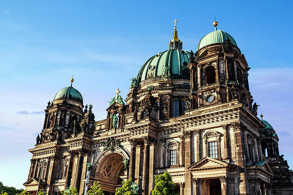 Berlin Cathedral Photograph - Berlin, Germany Berlin Cathedral by Miva Stock