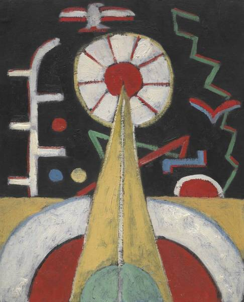 Wall Art - Painting - Berlin Series No  by Marsden Hartley
