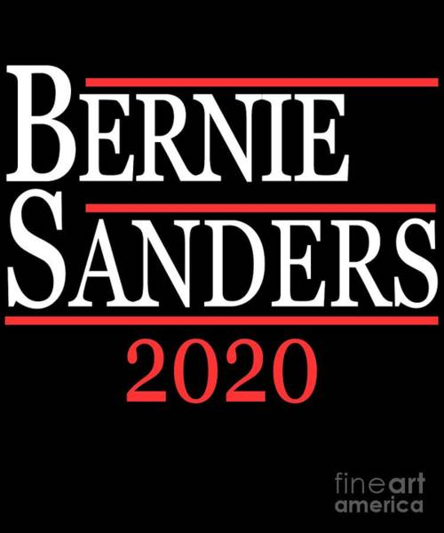 Digital Art - Bernie Sanders 2020 by Flippin Sweet Gear