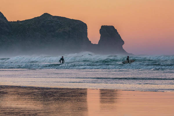 Tasman Sea Photograph - Bethells Beach - New Zealand by Joana Kruse