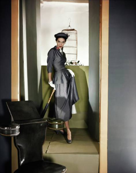 Threat Photograph - Betty Plucer Threat In Vogue Patterns by Horst P. Horst