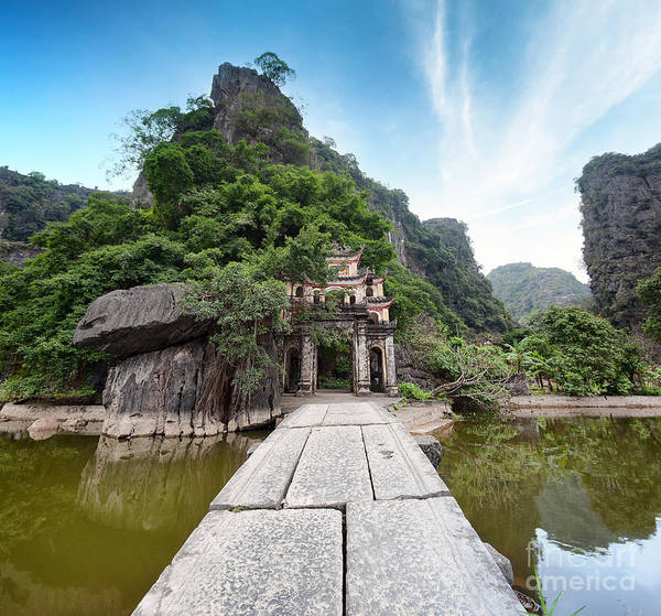 Wall Art - Photograph - Bich Dong Pagoda In Ninh Binh, Vietnam by Banana Republic Images