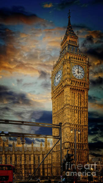 Wall Art - Photograph - Big Ben London City by Adrian Evans