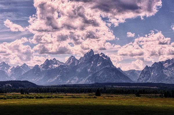 Photograph - Big Sky Over Grand Tetons by Chance Kafka