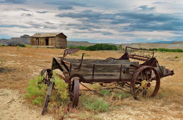 Wall Art - Photograph - Bighorn Basin History by Leland D Howard