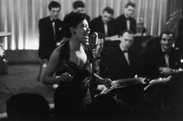 Adult Male Photograph - Billie Holiday by Charles Hewitt