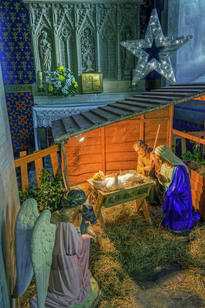Photograph - Birth Of Jesus by Ian Mitchell