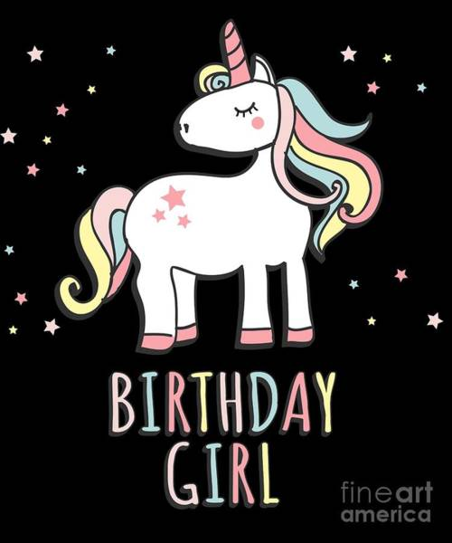 Digital Art - Birthday Girl by Flippin Sweet Gear
