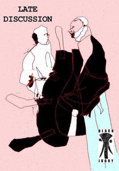 Digital Art - Black Ivory 2 Digital Pop Art 2 by Artist Dot