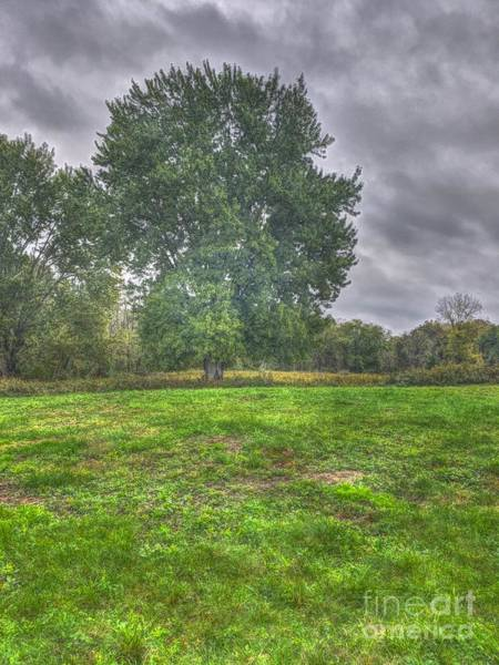 Photograph - Blacklick Circle Earthwork by Jeremy Lankford