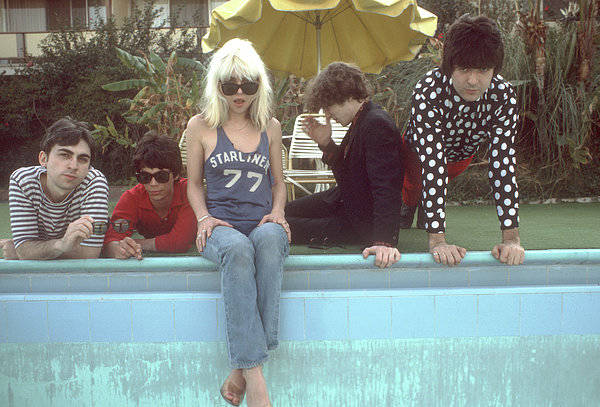 Blondie Portrait Session In La Art Print by Michael Ochs Archives
