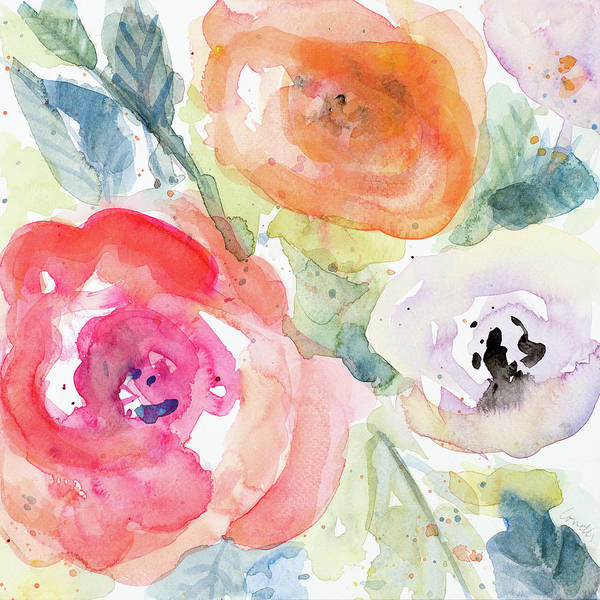 Wall Art - Painting - Blooms Abound I by Lanie Loreth